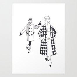 Fashion1953 Art Print