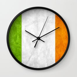 TriColour of Ireland bywhacky Wall Clock