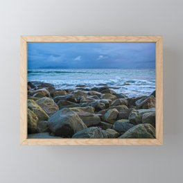 The Blue Hour Framed Mini Art Print