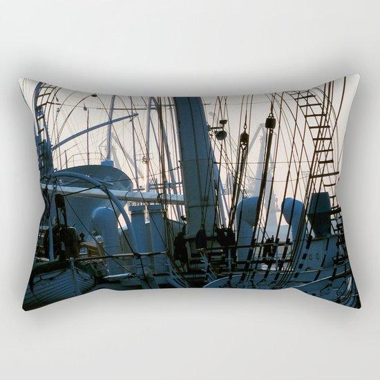 sailor's yarn Rectangular Pillow