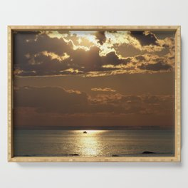 Awesome Sea Scene Serving Tray