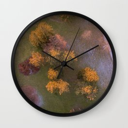 Borrowed Time Wall Clock