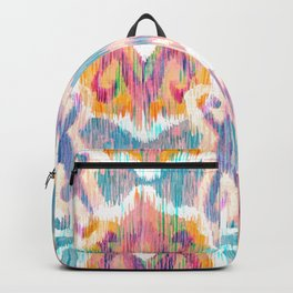 lollipop balinese ikat Backpack