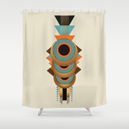 Queen's necklace Shower Curtain