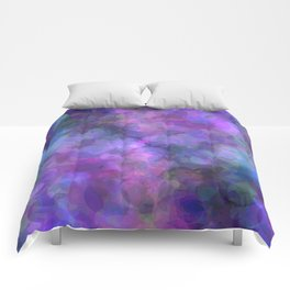 Blueberry Bubbles Comforters