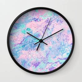 Enif - Abstract Costellation Painting Wall Clock