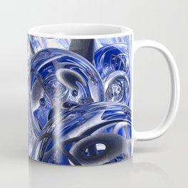 Macro Glass And Steel Bands Coffee Mug