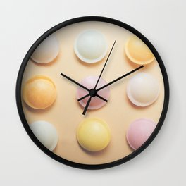 Flying Saucers Fine Art Photography Print Wall Clock