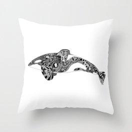 Captivity Kills Throw Pillow