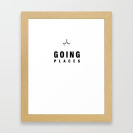 Going Places Good Framed Art Print