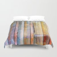 pastel Duvet Covers featuring Pastel by Rafael&Arty