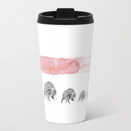 Bull fight  Travel Mug