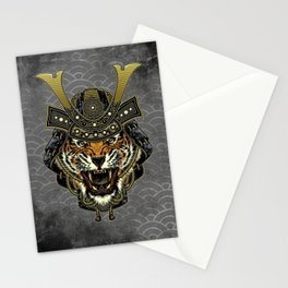 Samurai Tiger, Ronin, Bushido, Samurai Mask, Cat Stationery Cards