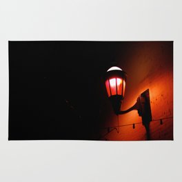 Red Streetlight Rug