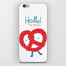 Ich Liebe Dich iPhone & iPod Skin