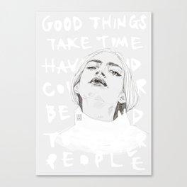 Take time Canvas Print