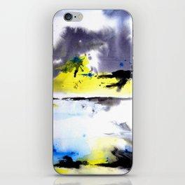 Watercolor Abstract Horizons iPhone Skin