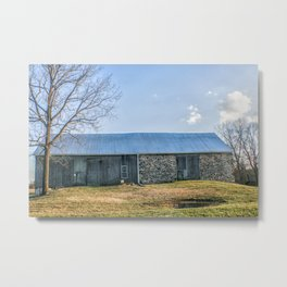 Old Pennsylvania Barn Metal Print