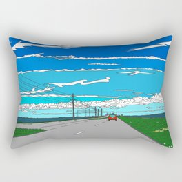 Road to Cape Canaveral Rectangular Pillow