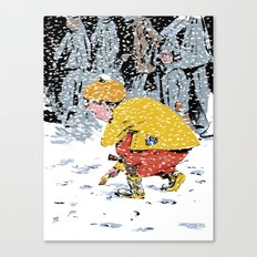 Lost Ticket Canvas Print