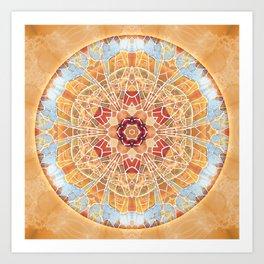 Mandalas of Forgiveness & Release 17 Art Print