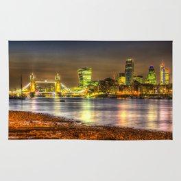 London at Night Rug