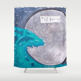 Night Shift Shower Curtain