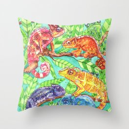 Show Up and Be Seen Throw Pillow