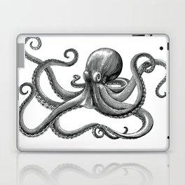 Octopus Black and White Laptop & iPad Skin