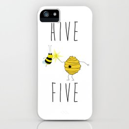 Hive Five iPhone Case