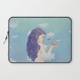 Gigantic Lady Laptop Sleeve