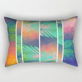 A Zagged Row of Palms [Near Cantor Arts Center] Rectangular Pillow