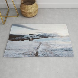 Alpine morning - Landscape and Nature Photography Rug