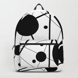 Abstract Lines and Dots Backpack