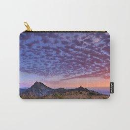 Sunset at the mountains. Boca de la Pesca Carry-All Pouch