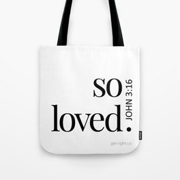 So Loved Tote Bag