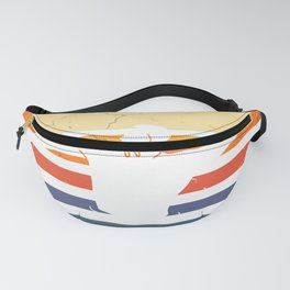 Water Polo Vintage Wopo Pool Ball Retro Fanny Pack