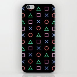 Classic Play Station Controller Buttons iPhone Skin
