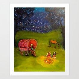Magical Trip Art Print