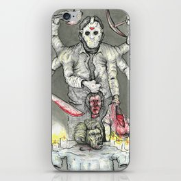 God of the Lake iPhone Skin