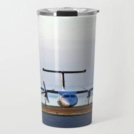 Plane Landing Travel Mug