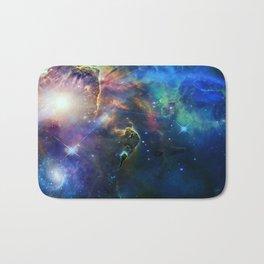 Space nebula Bath Mat