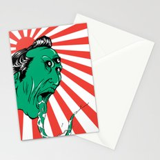 Green Yokai Stationery Cards