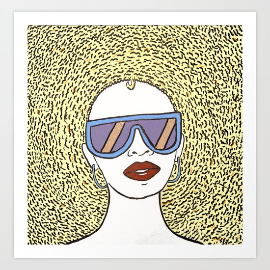 Rhonda Art Print