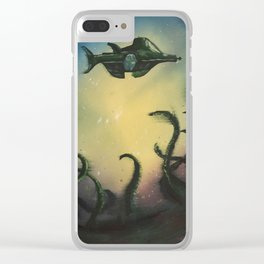20,000 Leagues Under The Sea - Jules Verne Clear iPhone Case