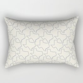 ATX Austin, Texas Retro Neon Lights Rectangular Pillow