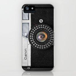 Classic Canon iPhone Case