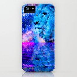 BEHOLD THE LION OF JUDAH iPhone Case
