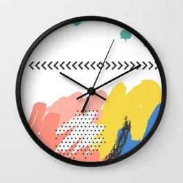 Fashion Abstract Art Design Wall Clock