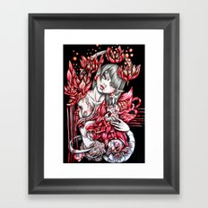Pregnancy of Heart Framed Art Print